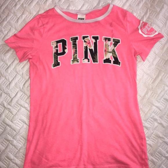 58a507e17cf3e Pink t-shirt from Pink/Victoria's Secret